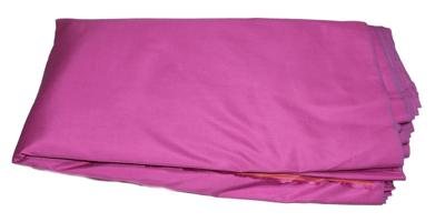 Billede af Erikaviolet silke metervare