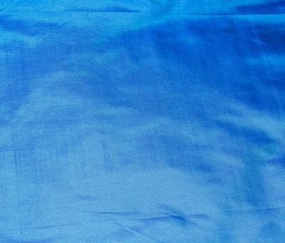 Billede af Silke metervare signal blå