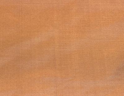 Billede af Mørk kobber brun silke stof