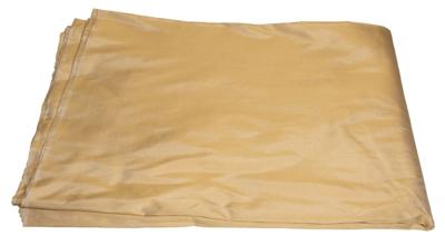 Billede af Sandgul silke i metermål