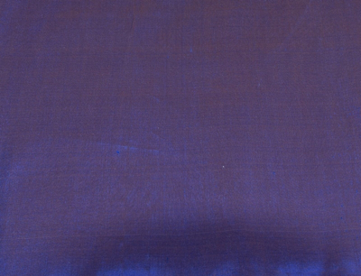 Billede af Silkestof metermål Natblå