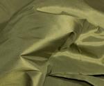 Billede af Army grøn silke metervare