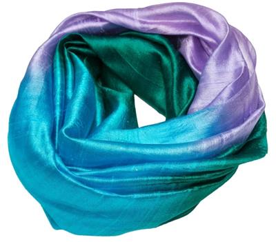 Stort silketørklæde