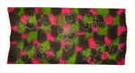 Batik halstørklæde i fin silke