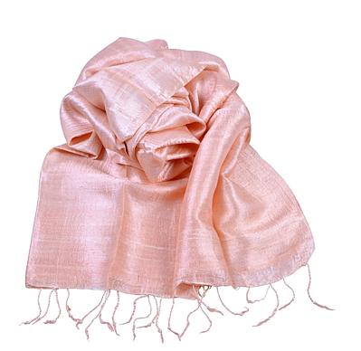 Billede af Koral silketørklæde