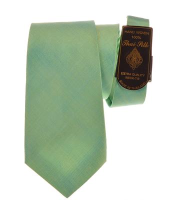 Billede af Lyst grønt silkeslips