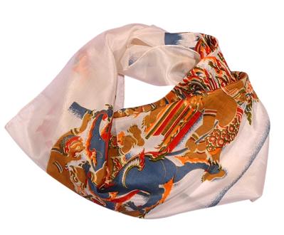 Billede af Silketørklæde med dæmoer