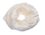 Hvidt silketørklæde