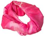 Flot silketørklæde i rød Batik