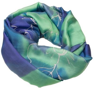 Fint vævet silke tørklæde