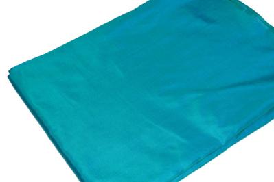 Billede af Blå/Grøn silke