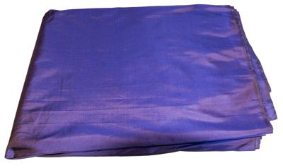 Billede af Violet Blå silke metervare
