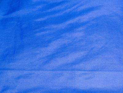 Billede af Blå silke metervare