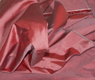 Billede af Violet grå Thai silke