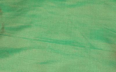 Signal grün Seidenstoff