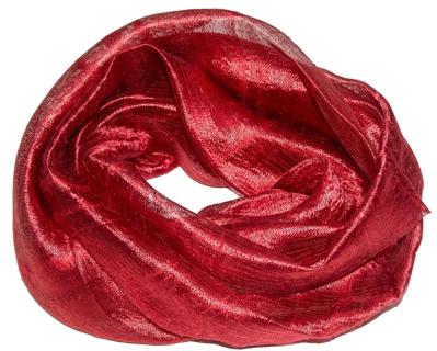 Billede af Vin rød silketørklæde