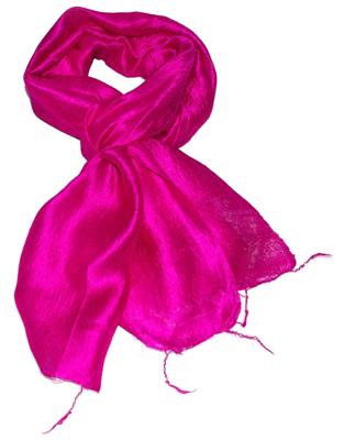 Billigt rødt silketørklæde