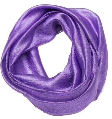 Violet silke tørklæde