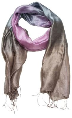 Smukt halstørklæde af silke