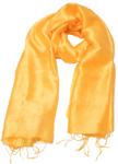 Gult silketørklæde fra Thailand