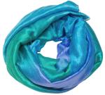 Dupion silketørklæde fra Thailand